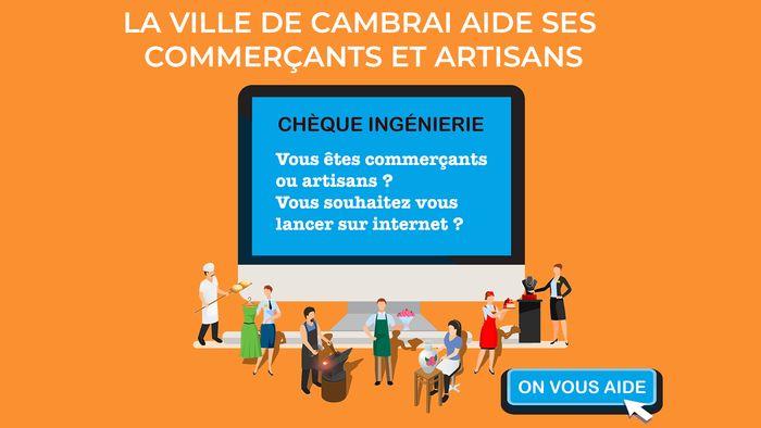 Aide Cambrai Transition numérique